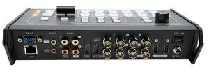 Image 4 - Avmatrix VS0601 Mini 6 kanał SDI/HDMI wielu formacie przełącznik wideo z drążka w kształcie litery T, AUTO, cięcia przejścia i wytrzeć efekty