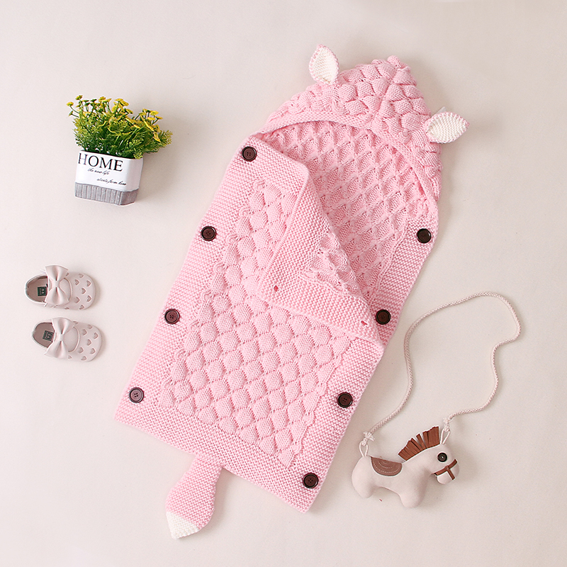 Hand Knitted Baby Sleeping Bags For Newborn Kids Best Children's Lighting & Home Decor Online Store