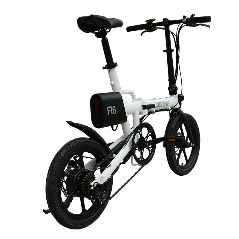 16 inch al alloy folding electric bike lithium battery powered folding e-bike 2