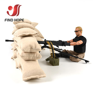 Image 4 - 1:6 Scale Browning M2 MACHINE GUN Model Military US Army Assembly Toy for Action Figure Accesssories