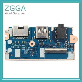 Genuine New Ethernet Interface Network Card For Lenovo ThinkPad E570 E575 RJ45 I/O USB Audio Board Slot Type 01EP132
