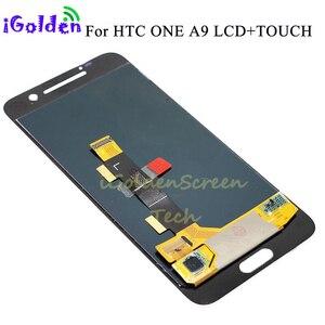 Image 5 - Orijinal Amoled LCD HTC One A9 LCD ekran dokunmatik ekran digitizer HTC One A9 HTC A9 LCD yedek parçalar