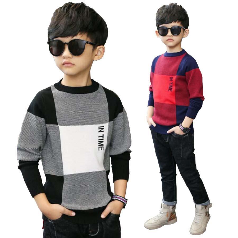 Одежда для детей, детские хлопковые свитера с длинными рукавами, детская осенне-весенняя куртка, топы для маленьких мальчиков 4-15 лет, куртка...
