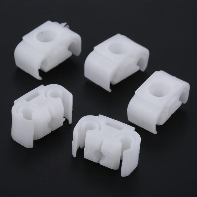 Yetaha 20 adet otomatik fren kablosu dirsek boru bağlantı elemanları araba vücut istinat klipleri tutucu VW Golf Jetta Passat audi için A4 A6
