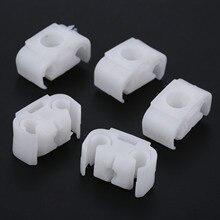Yetaha 20 sztuk hamowania samochodu wspornik kabla rury elementów złącznych karoseria klipsy mocujące uchwyt do VW Golf dla Jetta Passat dla Audi A4 A6