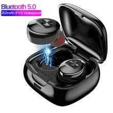 XG12 TWS Bluetooth 5.0 Earphone Stereo Wireless Earbuds HIFI Sound Sport Earphon