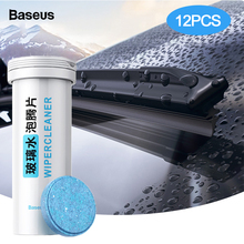 Baseus 12PCS Car Windshield Glass Solid Cleaner Solid Wiper Washer Auto Window Cleaning Fine Seminoma Wiper Car Accessories все цены