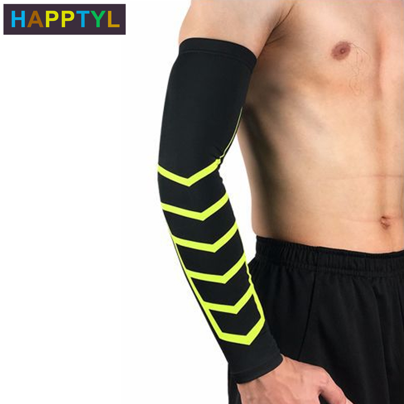 HAPPTYL 1Pcs Arm Sleeves, UV Arm Warmers Cooling Sleeves For Men Women Youth Kids UV Protection Sunblock Tattoo Cover