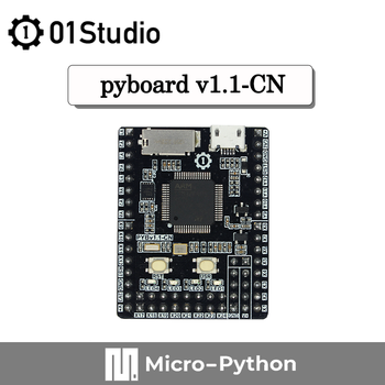 01Studio pyBoard V1.1-CN Micropython STM32 Development Demo Board Embedded Programming crazy demo будни психа