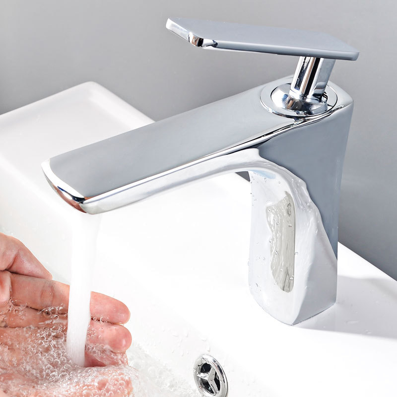Copper Hot And Cold Faucet Bathroom Table Basin Copper Hot And Cold Basin Faucet Toilet Household Lavatory Faucet