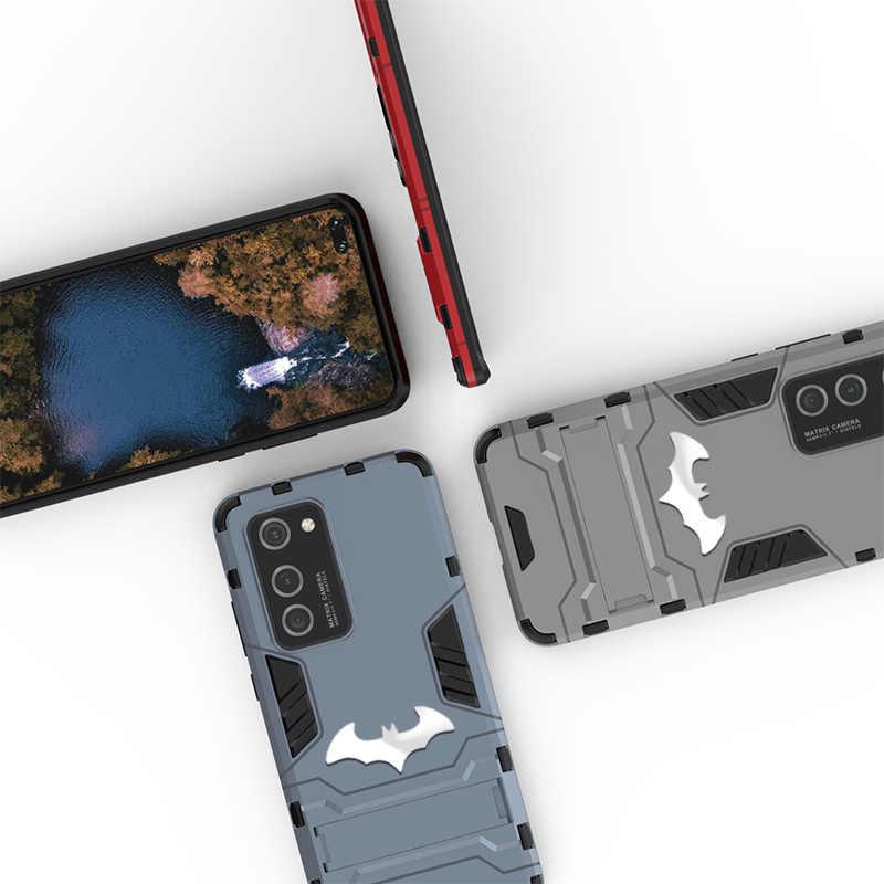 Iron Man Armatura Per Il Caso di Huawei P40 Pro P30 Lite P20 Compagno 30 20 10 Y9 2019 Y7 Y6 Honor 8X 9X Molle Del Silicone Dura del PC Della Copertura Batman
