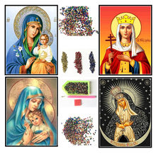 5d diy diamond painting religious icon diamond mosaic cross stitch diamond embroidery beaded picture character