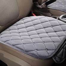 Pokrowce na siedzenia samochodowe pokrowce na siedzenia ogrzewane siedzienie poduszki antypoślizgowe uniwersalne pokrowce na fotel osłona ochronna K8 siedzisko poszewka na siedzisko tanie tanio Cztery pory roku Sztuczne Pluszowe CN (pochodzenie) 2inch 40inch Pokrowce i podpory 0 24kg Podstawową Funkcją 35inch Car seat anti-slip
