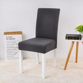 Funda elástica de LICRA para silla de comedor, cubierta elástica para silla,...