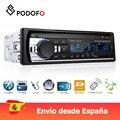 Podofo 1 din coche radio Digital de Audio Bluetooth de música estéreo Mp3 jugador USB/SD/AUX-IN Control remoto