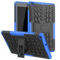 Heavy Duty 2 em 1 Híbrido Robusto Caso Durável Para Samsung Galaxy Tab 8.0 2019 SM-T290 SM-T295 T295 T297 tablet Case + filme + Caneta