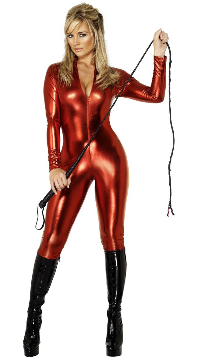 Ng Nan Na New Style Nightclub DS Stage Wear Two-color Patent Leather Onesie Clothing = Zf3051
