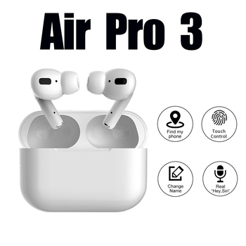 Macaron  Air pro 3 TWS 1:1 Clone Airpodering Bluetooth Earphone Headphones Wireless  Earbuds Stereo Headset PK i90000 i12 podzs2 1