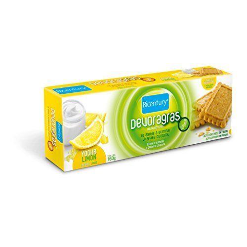 Bicentury - Galletas Devoragras Yogur Limón 160 G