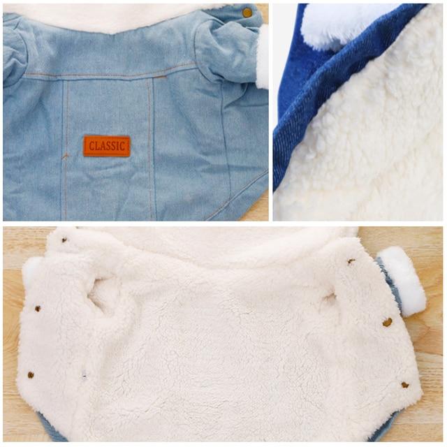 Fashion Fleece Lined Denim Jacket 6