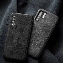 טלפון מקרה עבור Huawei P10 P20 P30 Mate 9 10 20 פרו לייט מקרה Y9 P חכם 2019 זמש עור רך כיסוי לכבוד 8X 9X 10 20 לייט