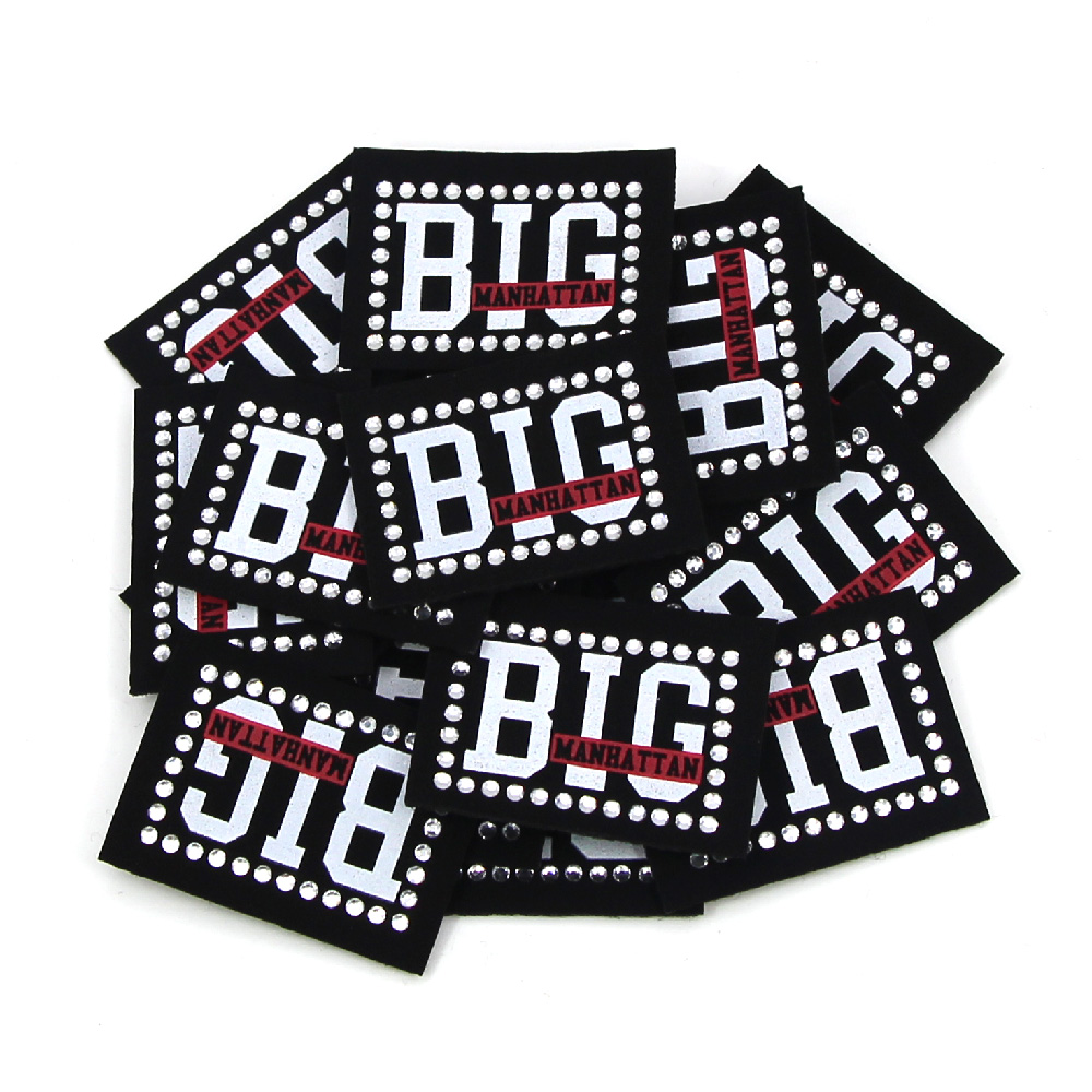 50 шт моющиеся черные этикетки круглые/квадратные из искусственной кожи, стразы, этикетки для печати, этикетки для одежды, сделай сам, одежда аксессуары для шитья