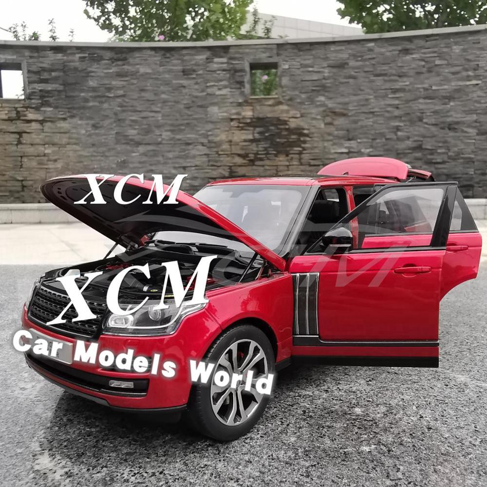 ¡Modelo de coche Diecast LCD 1:18 (rojo) + pequeño regalo!-in Troquelado y vehículos de juguete from Juguetes y pasatiempos    3