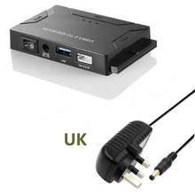 USB 3.0 untuk Ide Sata Converter Hard Disk Eksternal Universal Adaptor Data Transfer Converter untuk Optical Drive HDD SSD(China)