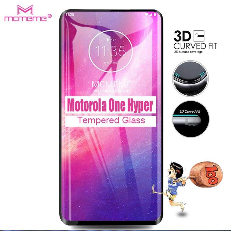 For Motorola One Hyper Glass Tempered Screen Protector Full Cover Film For Motorola One Hyper 6.5