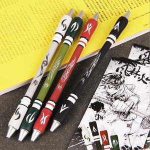 None Smooth Surface Ant-slip Anti-drop Spinning Rotation Pen with 0.5 Pen Head for Fluent Writing