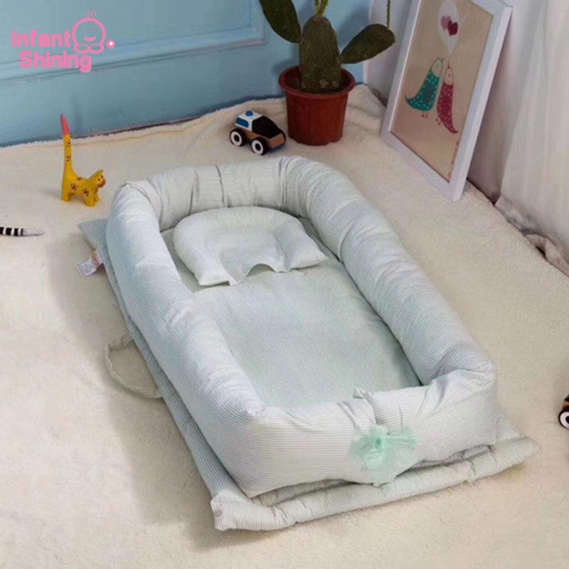 MTShining Mand Bed 0-12M