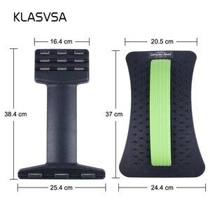 Image 5 - Klasvsaバックストレッチャーがマッサージャーネックウエスト痛みレリーフ魔法サポートマッサージホーム筋肉刺激緩和フィットネス機器