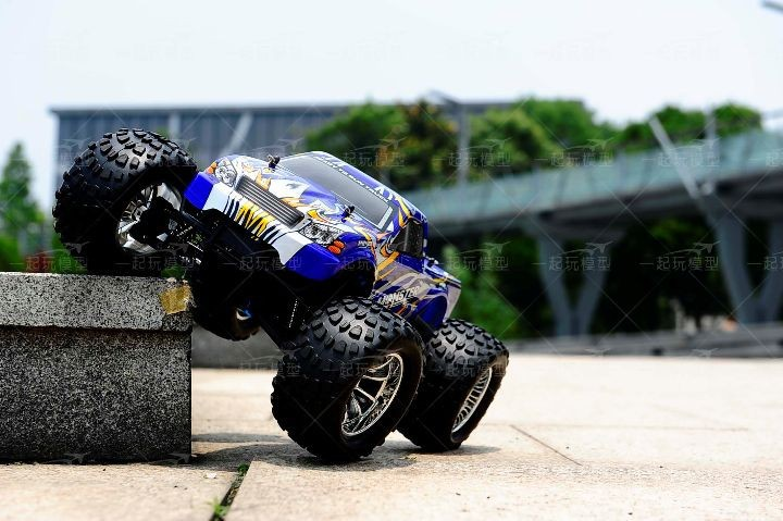 Free shipping RC Monster HSP 94188 Nitro 4WD 2.4GHz 110 RTR RC CAR Big Foot d2
