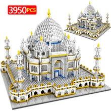 3950Pcs Toys for Kids Creator Mini Blocks World Famous Architecture Taj Mahal 3D Model Building Blocks Educational Bricks Gifts
