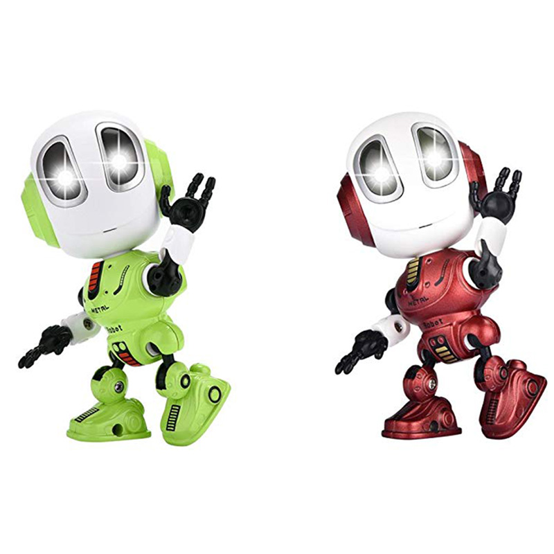 Mini Robotic Toys With LED Eyes Contact Control Best Birthday Gifts for 3 Year Child 5