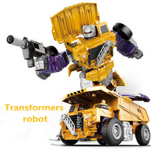 New Cool Anime Transformation Toys Robot Cars Model Super Hero Action Figures 3C Plastic Kids Gifts Boys Juguetes