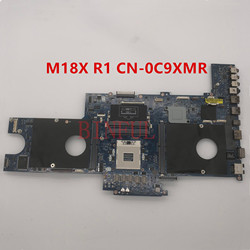 Haute qualité Pour M18X R1 Ordinateur Portable carte mère CN-0C9XMR 0C9XMR C9XMR PAR10 LA-6571P 100% entièrement Testé
