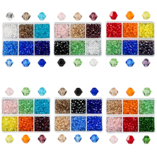 600pcs/lot wholesale 4mm Glass Bicone Beads Crystal beads Faceted Austria 5238 for Jewelry making Best Selling Color