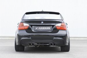 Image 5 - E90 HM Styling Carbon Fiber  Rear Roof  Lip Wing Spoiler  for BMW 2005 2012