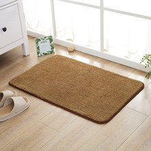 Indoor Super Absorbs Doormat Latex Backing Non Slip Door Mat for Front Door Inside Floor Dirt Trapper Cotton Entrance Rug