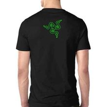 Razer Gaming Tee Two Sides Tshirt Cotton New Men's T-Shirt S