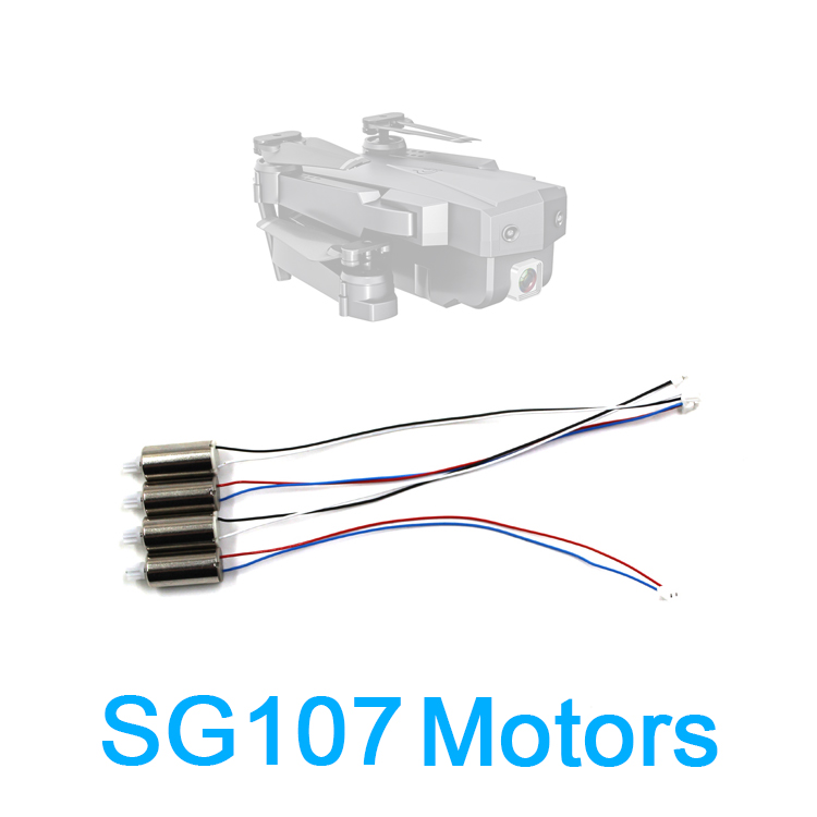 Drone sg107 sg107 motor peça de reposição, sg107 cw ccw motor, peça para rc quadcopter sg107, acessório de motor