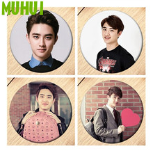 Badges Backpack Decoration Kpop Jewelry Exo-Do-Brooch-Pin Girls for B190