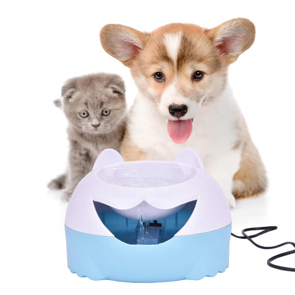 3L Automatic Pets Water Fountain Electric Water Dispenser For Cat Dog Drinking Flower Water Pet Bowls Quiet Water Drinker