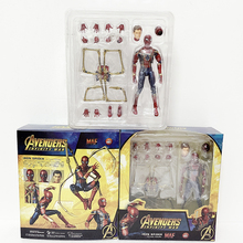 2019 New Type Avengers Endgame Infinity War Iron Spider Man Mafex 081 S