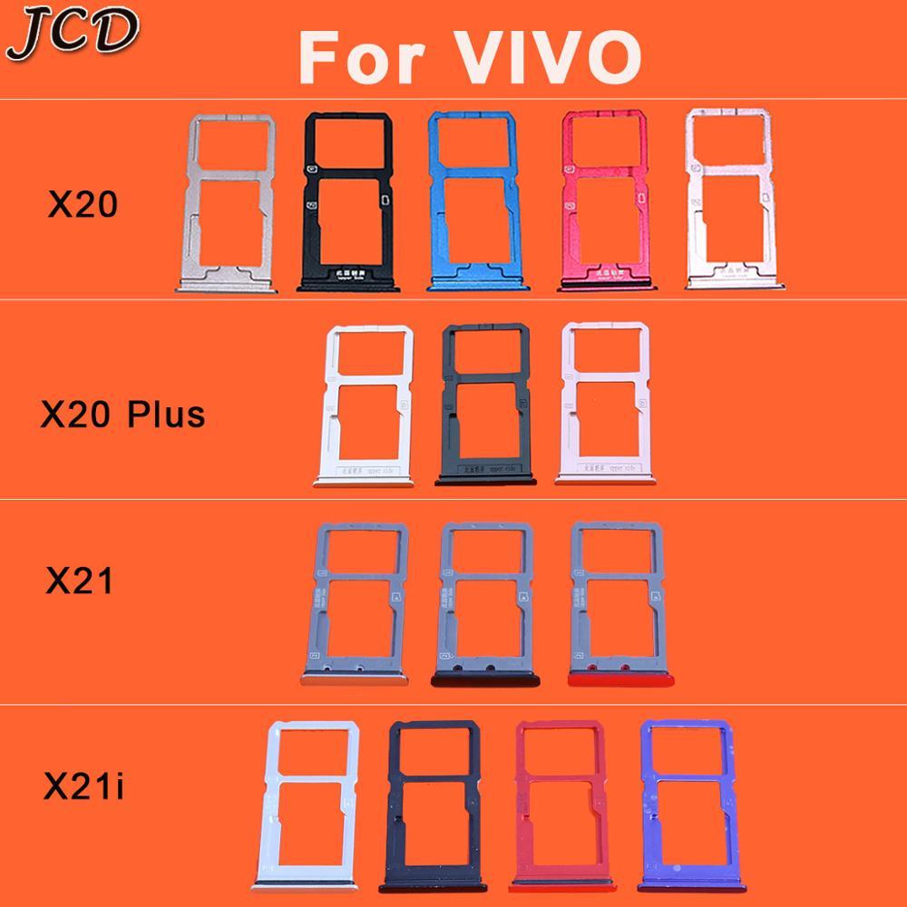JCD For VIVO X20 X20 Plus X21 X21i Cato Micro Dual SIM SD TF Card Holder Adapter Reader Smartphone Repair