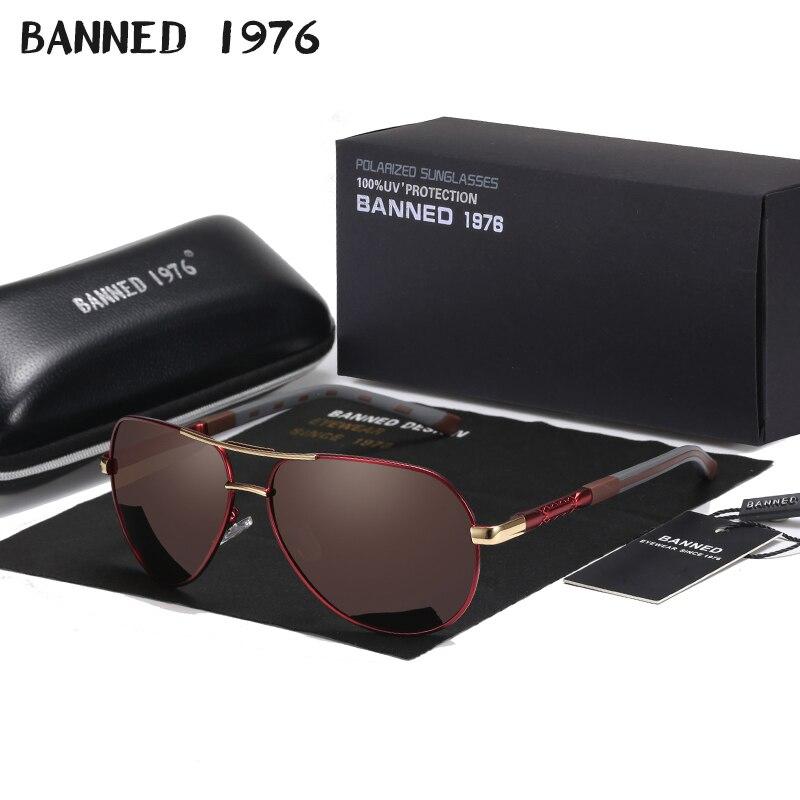 2020 latest Fashion HD Polarized Outdoor Men Sunglasses original Brand Designer metal classic driving sun glasses oculos de sol