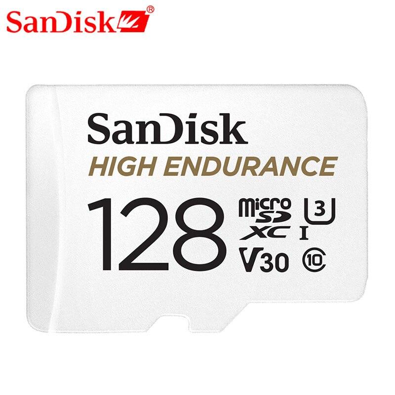 Карта памяти SanDisk высокая выносливость видео мониторинг 32 Гб 64 Гб MicroSD карта SDHC/SDXC класс 10 40 МБ/с./с TF карта для видео мониторинга