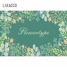 Laeacco детский фон для фотосъемки на день рождения зеленые