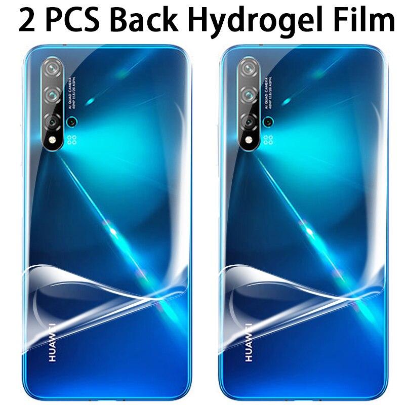 Защитная пленка для телефона 2 шт. для Huawei Nova 5 T 5 Nova5 t 6 7 SE nova6se nova7se nova5t, мягкая Гидрогелевая пленка, не защитное стекло